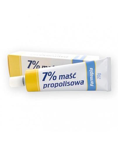 MAŚĆ PROPOLISOWA 7% - 20 g - Drogeria Melissa
