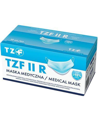 Maska Medyczna  TZF II R n/sterylna - 50 szt. - cena, opinie, właściwości - Apteka internetowa Melissa