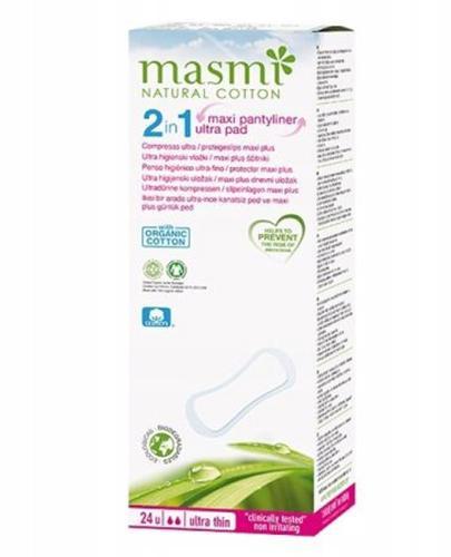 MASMI Podpaski 2w1 do użycia dla kobiet z lekkim nietrzymaniem moczu - 24 szt. - Apteka internetowa Melissa