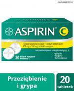 ASPIRIN C - 20 tabl. mus.