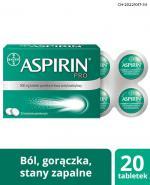 ASPIRIN PRO - 20 tabl. - Apteka internetowa Melissa