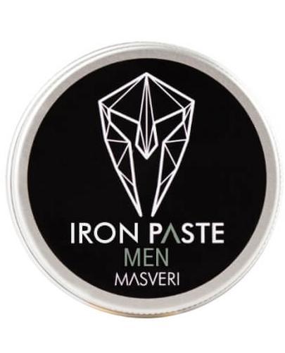 Masveri Man Pasta do włosów o matowym wykończeniu i ultra mocnym chwycie - 100 ml - cena, opinie, właściwości - Apteka internetowa Melissa