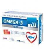 AVEC PHARMA Omega 3 blu forte 1000 mg - 60 kaps.  - Apteka internetowa Melissa