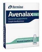AVENA Czopki glicerolowe 2 g - 10 szt. - Apteka internetowa Melissa