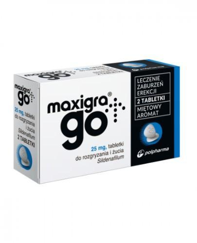 Maxigra Go - 2 tabletki  - Apteka internetowa Melissa