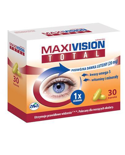 MAXIVISION TOTAL - 30 kaps. - Drogeria Melissa