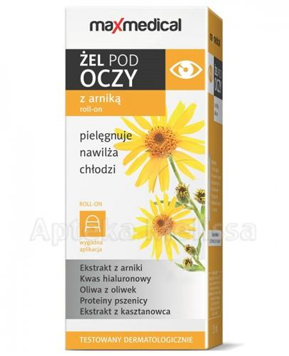 MAXMEDICAL Żel pod oczy z arniką roll-on - 15 ml - Apteka internetowa Melissa
