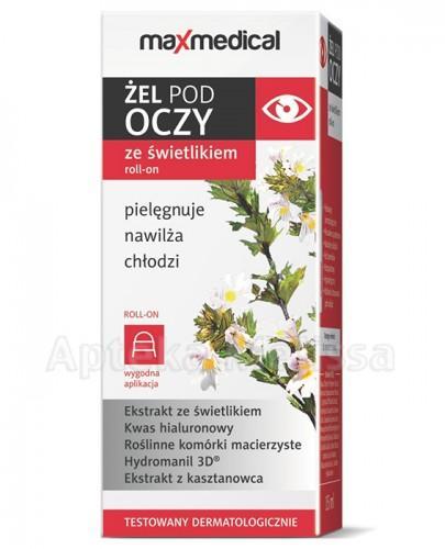 Maxmedical Żel p/oczy świetl.rool-on15PP