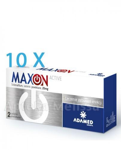 MAXON ACTIVE  0,025 g - 10 x 2 tabl.  - Apteka internetowa Melissa