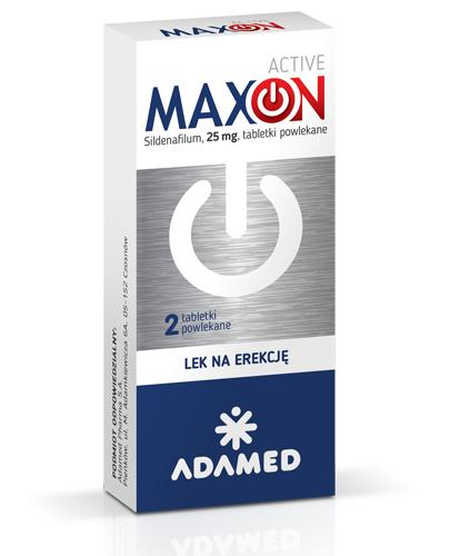 Maxon Active, 2 tabletki