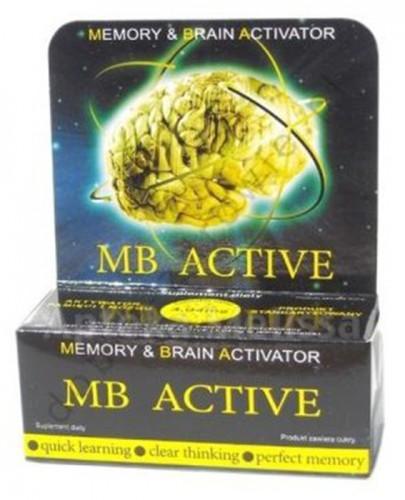 MB Active - 20 tabl.   - Apteka internetowa Melissa