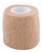 Bandaż kohezyjny 5 m x 4,5 cm beżowy - 1 szt. - cena, opinie, wskazania