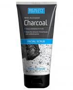 BEAUTY FORMULAS CHARCOAL Peeling do twarzy z aktywnym węglem - 150 ml - Apteka internetowa Melissa