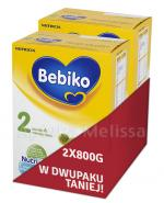 BEBIKO 2 Mleko modyfikowane następne dla niemowląt - 2 x 800 g - Apteka internetowa Melissa