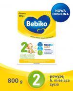 BEBIKO 2 Mleko modyfikowane następne dla niemowląt - 800 g - Apteka internetowa Melissa