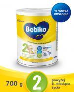 Bebiko 2 Nutriflor Expert - 700 g Mleko następne po 6. miesiącu - cena, opinie, wskazania