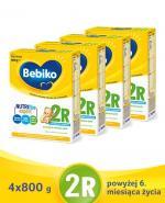 BEBIKO 2R Mleko następne dla niemowląt - 4x800 g - Apteka internetowa Melissa