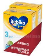 BEBIKO 3 JUNIOR Mleko modyfikowane następne dla niemowląt - 2 x 800 g  - Apteka internetowa Melissa