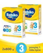 BEBIKO 3 JUNIOR Mleko modyfikowane następne dla niemowląt - 2x800 g - cena, opinie, właściwości
