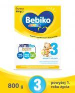 BEBIKO 3 JUNIOR Mleko modyfikowane następne dla niemowląt - 800 g - Apteka internetowa Melissa