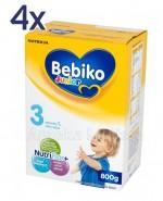 BEBIKO 3 JUNIOR Mleko modyfikowane następne dla niemowląt - 4 x 800 g - Apteka internetowa Melissa