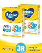 BEBIKO 3R JUNIOR Mleko modyfikowane następne dla niemowląt - 2x800 g - Apteka internetowa Melissa