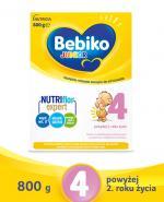 BEBIKO 4 JUNIOR Mleko modyfikowane następne dla niemowląt - 800 g - Apteka internetowa Melissa