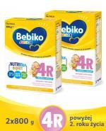 BEBIKO 4R JUNIOR Mleko modyfikowane następne dla niemowląt - 2x800 g