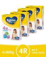 BEBIKO 4R JUNIOR Mleko modyfikowane następne dla niemowląt - 4x800 g - Apteka internetowa Melissa