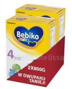 BEBIKO 4 JUNIOR Mleko modyfikowane następne dla niemowląt - 2 x 800 g