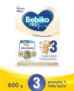 BEBIKO PRO+ 3 Mleko Modyfikowane - 600 g - Apteka internetowa Melissa