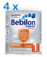 BEBILON 1 COMFORT PROEXPERT Mleko modyfikowane w proszku - 4 x 400 g