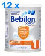 BEBILON 1 COMFORT PROEXPERT Mleko modyfikowane w proszku - 12 x 400 g - Apteka internetowa Melissa
