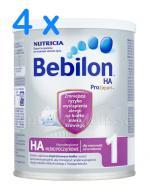 BEBILON 1 HA PROEXPERT Mleko modyfikowane w proszku - 4 x 400 g