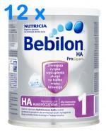 BEBILON 1 HA PROEXPERT Mleko modyfikowane w proszku - 12 x 400 g - Apteka internetowa Melissa