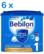 BEBILON 1 Z PRONUTRA Mleko modyfikowane w proszku - 6 x 350 g  - Apteka internetowa Melissa