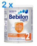 BEBILON 2 COMFORT PROEXPERT Mleko modyfikowane w proszku - 2 x 400 g
