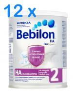 BEBILON 2 HA PROEXPERT Mleko modyfikowane w proszku - 12 x 400 g