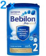 BEBILON 2 Z PRONUTRA+ Mleko modyfikowane w proszku - 2 x 800g - Apteka internetowa Melissa