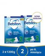 BEBILON 2 Z PRONUTRA+ Mleko modyfikowane w proszku - 2x1200 g - Apteka internetowa Melissa