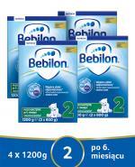 BEBILON 2 Z PRONUTRA+ Mleko modyfikowane w proszku - 4x1200 g