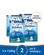 BEBILON 2 Z PRONUTRA+ Mleko modyfikowane w proszku - 4x1200g