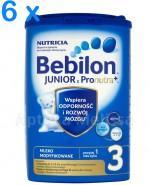 BEBILON 3 JUNIOR Z PRONUTRA Mleko modyfikowane w proszku - 6 x 800 g - Apteka internetowa Melissa