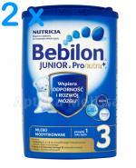 BEBILON 3 JUNIOR Z PRONUTRA+ Mleko modyfikowane w proszku - 2 x 800 g  - Apteka internetowa Melissa
