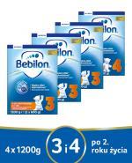 BEBILON 3 JUNIOR Z PRONUTRA+ Mleko modyfikowane w proszku - 3 x 1200 g + BEBILON 4 JUNIOR Z PRONUTRA+ Mleko modyfikowane w proszku - 1 x 1200 g - Apteka internetowa Melissa