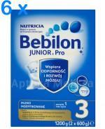 BEBILON 3 JUNIOR Z PRONUTRA Mleko modyfikowane w proszku - 6 x 1200 g - Apteka internetowa Melissa