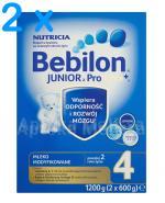 BEBILON 4 JUNIOR Z PRONUTRA+ Mleko modyfikowane w proszku - 2 x 1200 g - Apteka internetowa Melissa