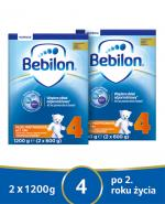 BEBILON 4 JUNIOR Z PRONUTRA+ Mleko modyfikowane w proszku - 2x1200 g