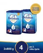 BEBILON 4 JUNIOR Z PRONUTRA+ Mleko modyfikowane w proszku - 2x800 g