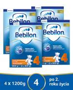 BEBILON 4 JUNIOR Z PRONUTRA+ Mleko modyfikowane w proszku - 4x1200 g
